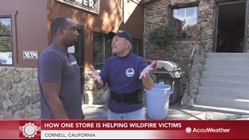 How one store owner is helping victims of the Woolsey Fire