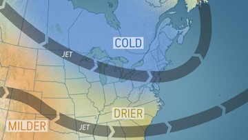 Break from blockbuster winter storms to provide brief reprieve for parts of U.S.