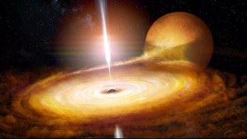 Researchers Just Peered into the Flaring Heart of a Black Hole