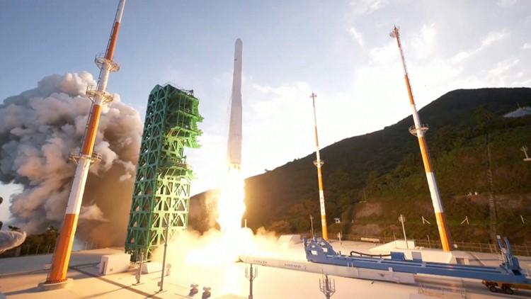 South Korea Successfully Test Launches Its First Domestic Space Rocket