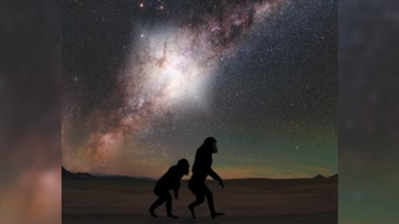 Ancestors Likely Witnessed a 'Cataclysmic Explosion' From the Milky Way's Heart