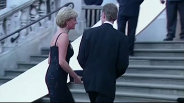 Princess Diana's Gown  She Wore to Dance with John Travolta To Be Auctioned Off