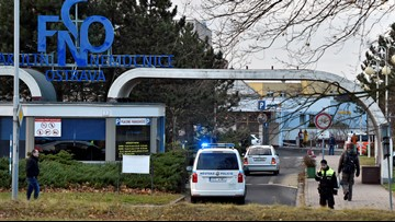 6 dead in Czech hospital shooting; shooter at large