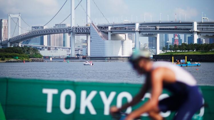 American trio go for gold in women's triathlon at Tokyo Olympics