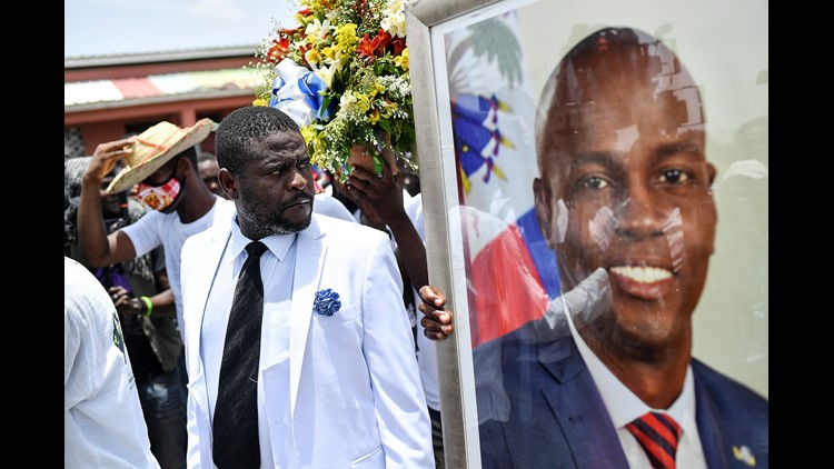 Haiti arrests top security official in slain president probe