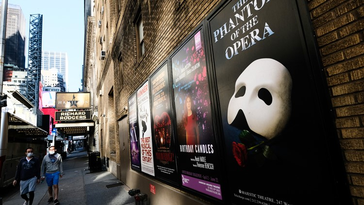 NYC Broadway theaters to fully reopen on Sept. 14