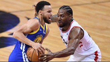 Warriors rally to beat the Raptors, force Game 6 in NBA Finals