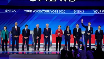 11 Democrats qualify for October debate so far
