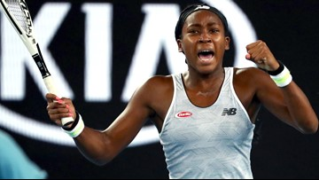 Coco Gauff stuns Venus Williams again in first-round Australian Open upset