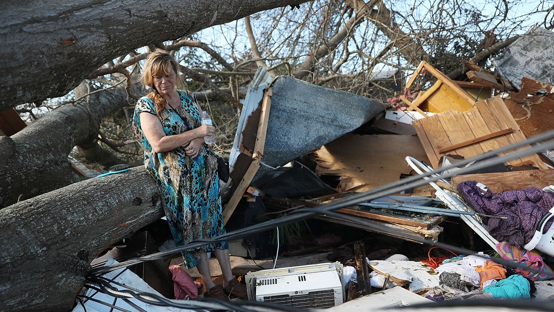 After Hurricane Michael, hard-hit communities begin picking up the pieces