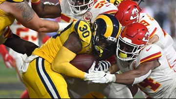 Rams outlast Chiefs in highest-scoring 'Monday Night Football' game ever