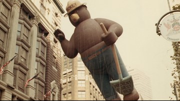 Forest Fire prevention icon Smokey Bear turns 75
