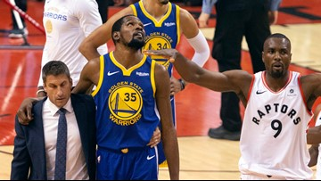 Warriors star Kevin Durant undergoes surgery for ruptured Achilles