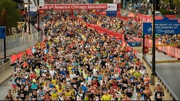 Kenya's Brigid Kosgei sets world marathon record in Chicago