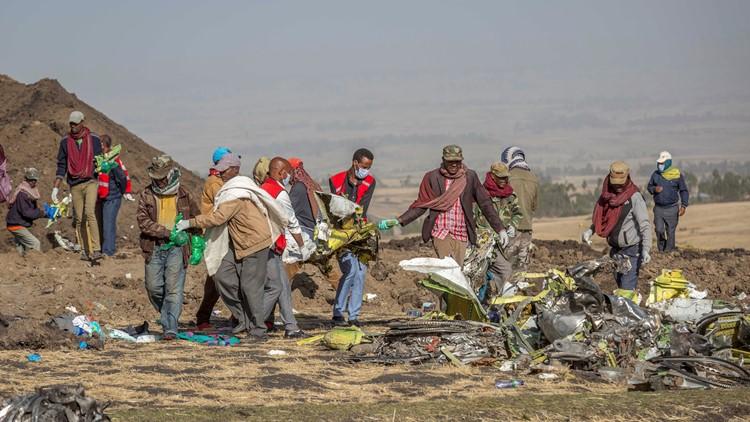 APTOPIX Ethiopia Plane Crash