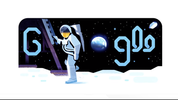 Google's Apollo 11 Doodle is an animated journey with Michael Collins