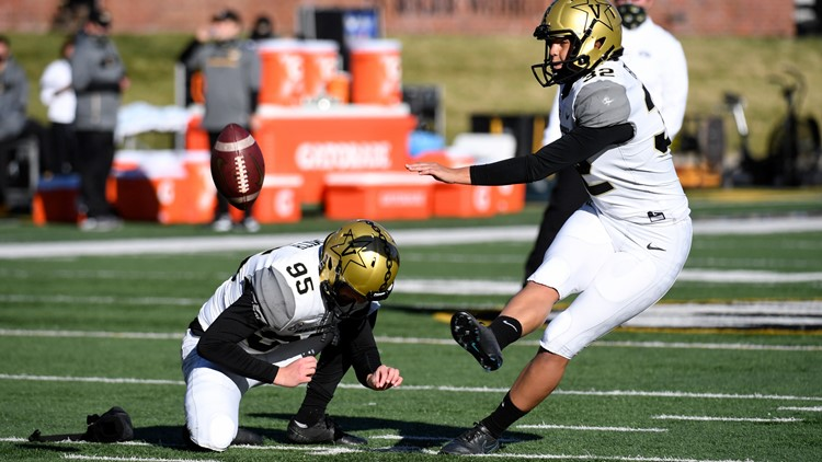 Vanderbilt kicker Sarah Fuller becomes first woman to play in Power 5 football