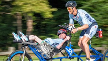 'The finish line is just the beginning'   Brothers compete in endurance sports to empower those with disabilities