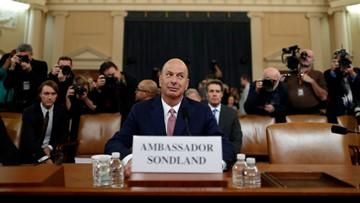Watch live: Ambassador Sondland says Giuliani pushed for Ukraine quid pro quo