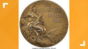 First basketball Olympic gold medal up for auction