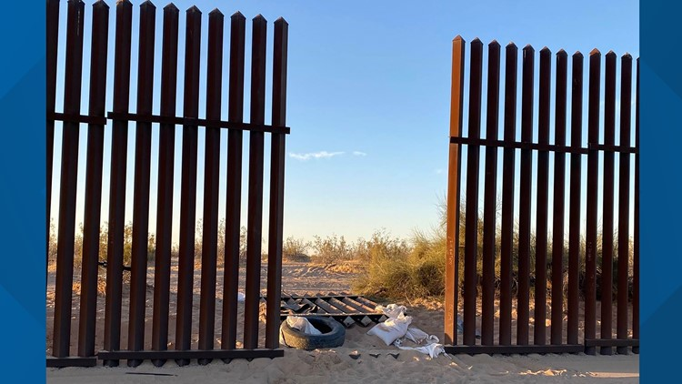 SUV in Southern California crash where 13 died came through hole in border fence