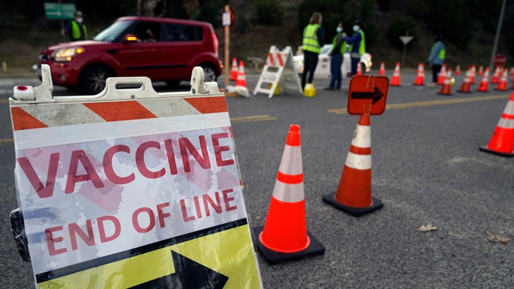 CDC says one in 4 adults in the US now fully vaccinated