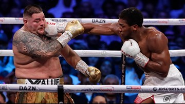 Anthony Joshua reclaims heavyweight titles from Andy Ruiz Jr. months after upset