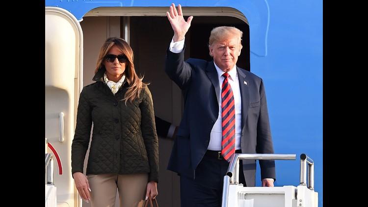 President Donald Trump Melania Trump