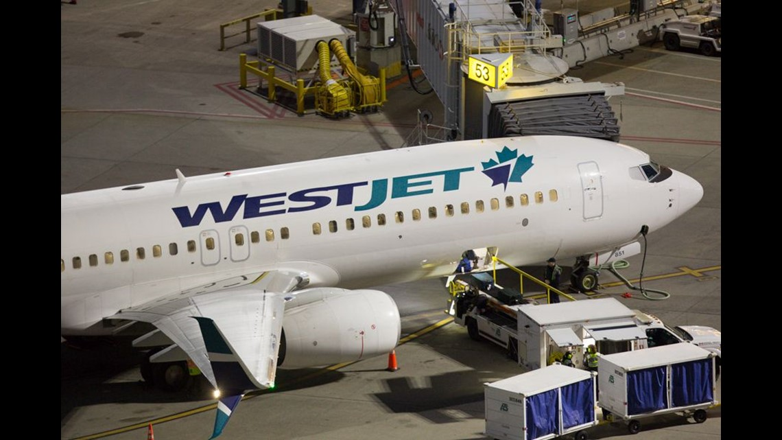 a9f4b2b6fb3b A WestJet Boeing 737 is seen at Canada s Vancouver International Airport in  March 2018.