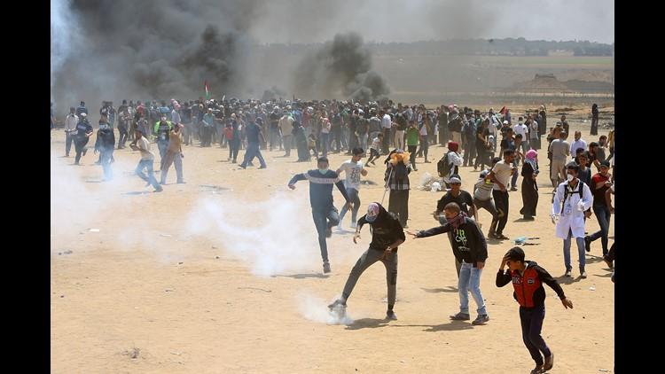 AP PALESTINIANS ISRAEL I OTK PSE