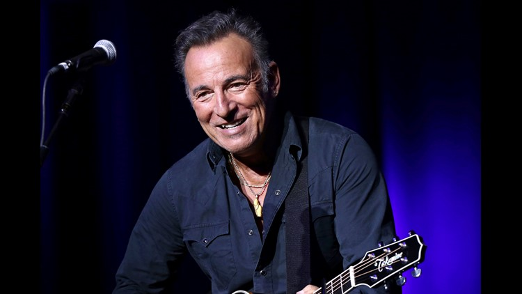 Ap People Bruce Springsteen A Ent File Usa Ny