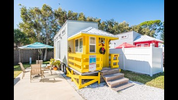 Pleasant Great Places To Rent A Tiny House Cbs19 Tv Download Free Architecture Designs Parabritishbridgeorg