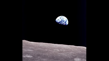 A view of Earth from space brings unifying moment to year of turmoil