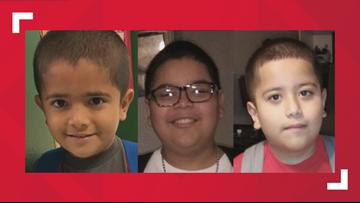 San Antonio police searching for three missing children