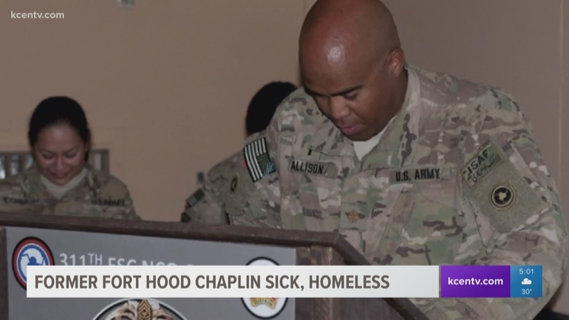 Former Fort Hood Chaplain Sick Homeless Cbs19 Tv