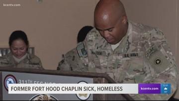 Former Fort Hood chaplain sick, homeless