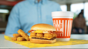Whataburger unveils 'Breakfast Burger' for a limited time