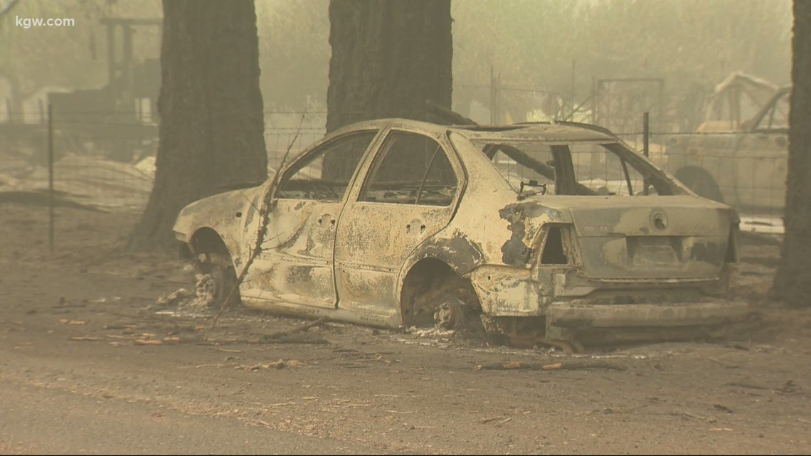 Downed power lines sparked 13 Oregon wildfires | cbs19.tv