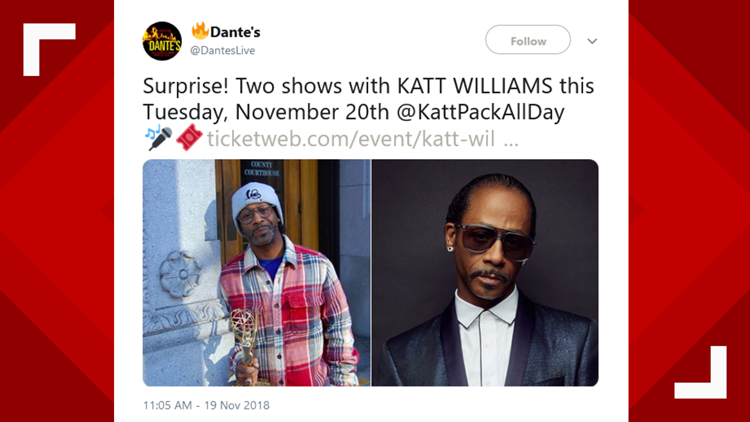 Dante's tweet- Kat Williams