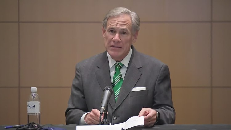 Governor Greg Abbott bans government-mandated 'vaccine passports' in Texas