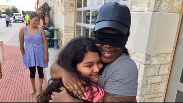 Mom showers Houston with healing hugs