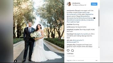 #Sprung4Springer Astros George Springer weds in California