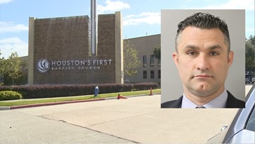 Former Houston's First Baptist Church minister accused of embezzling $800k from church