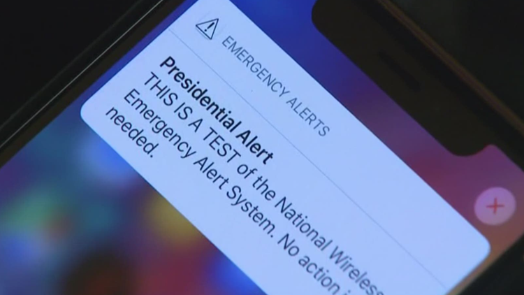 FEMA, FCC to conduct nationwide emergency alert test Wednesday afternoon