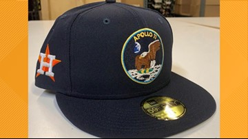 Astros to honor anniversary of Apollo 11 moon landing with new caps
