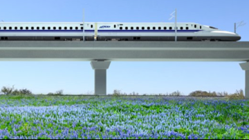 Bullet train company wins right to take private land in Texas, but legal fight may not be over