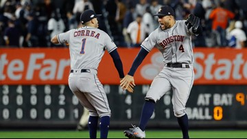 ALCS SCHEDULE: When to watch the Astros and Yankees after Game 4 delay