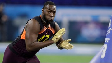 Texans take defensive end Charles Omenihu in 5th round