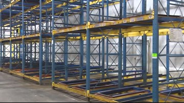 Ammonia leak at Houston Food Bank spoils more than 1.8 million pounds of food