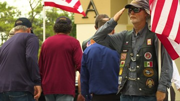 Houston WWII sailor funeral: Motorcycle group honors veteran with no family
